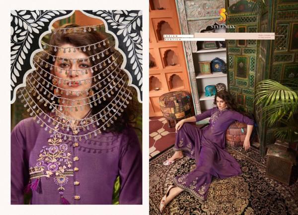 Vintage Vol 4 Festival Collection Designer Slub Cotton With Embroidery Work Kurti And Heavy Work Plazzo