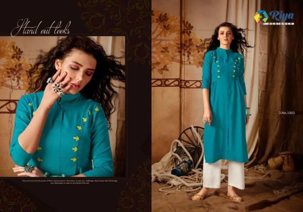 Riya Anokhi Latest Designer Casual Wear Stylish Kurtis Collection