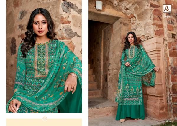 Alok Nagmaa 2 Latest Fancy Designer Casual Wear Pure Jaam Digital Print with Swarovski Diamond Designer Dress Material