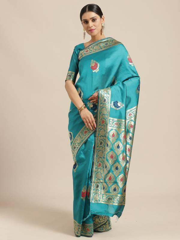 New Arrived Latest Designer Silk Saree Collection For Festivals