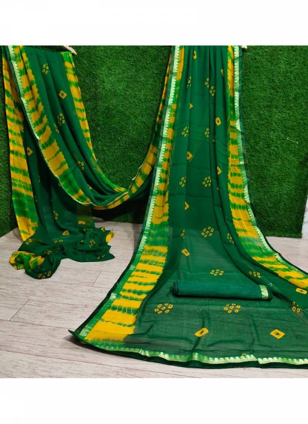 Mahek 38 Latest Fancy Casual Wear Designer Georgette Printed Saree Collection
