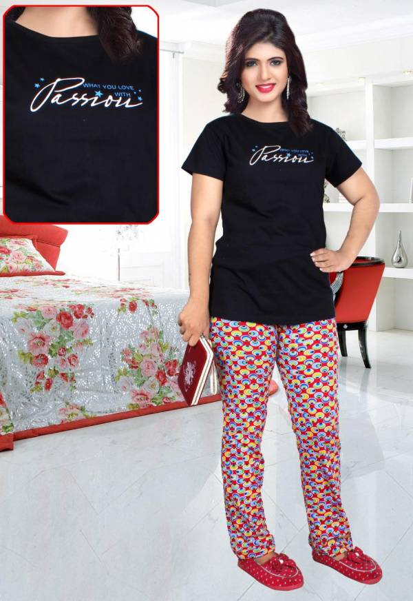 Trendy 5023 Hosiery Cotton Latest Collection Of Night Wear