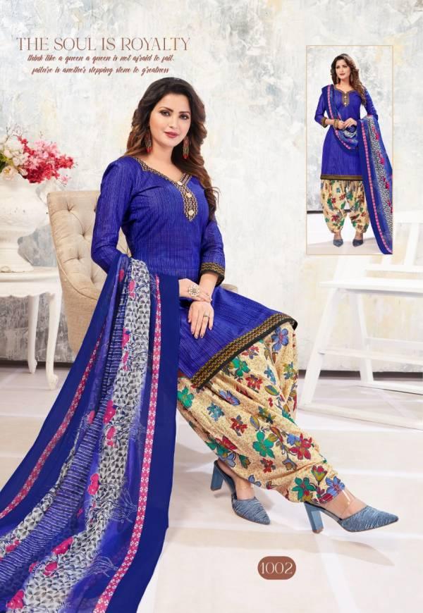 Shree Laxmi Magic Patiyala 1 Latest fancy Regular Casual Wear Pure Cotton Printed Collection
