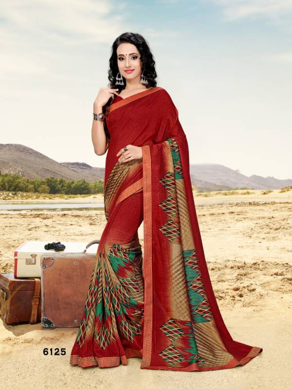 Kushboo Vol 4 Latest Designer Printed Daily Wear Saree Collection