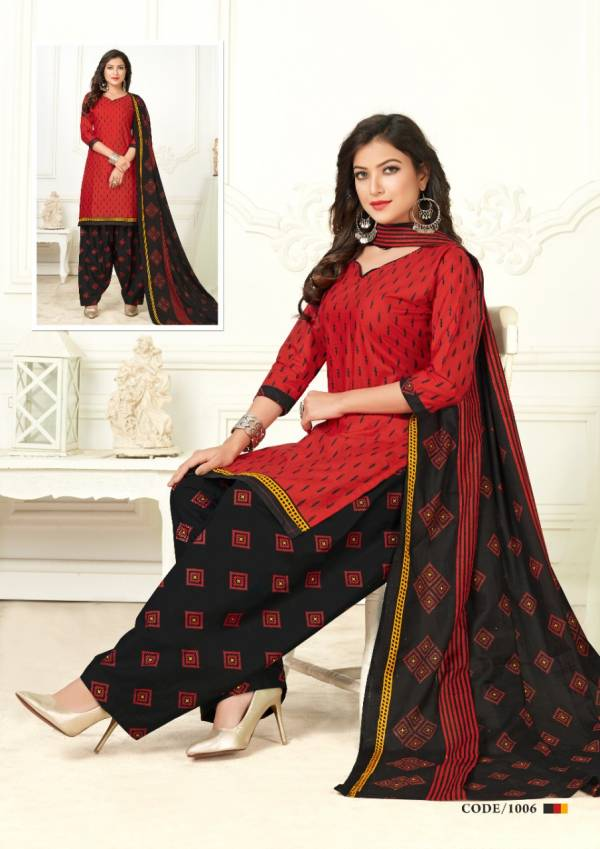 Vimali Patiyala Casual Daily Wear Pure Cotton Readymade Collection