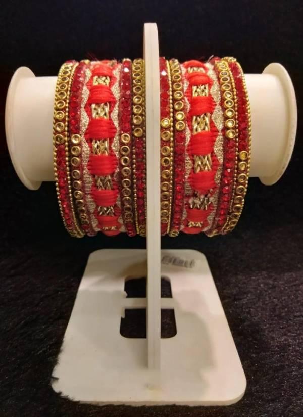New Latest Designer Thread Work Bangles Set Collection