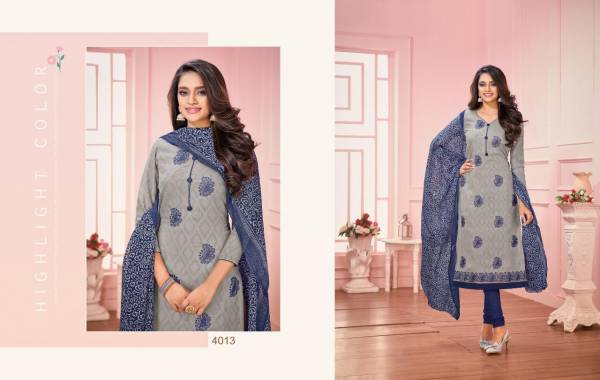 Daairy Don 25 Designer jacquard Work With Fancy Lace Dress Material Collection