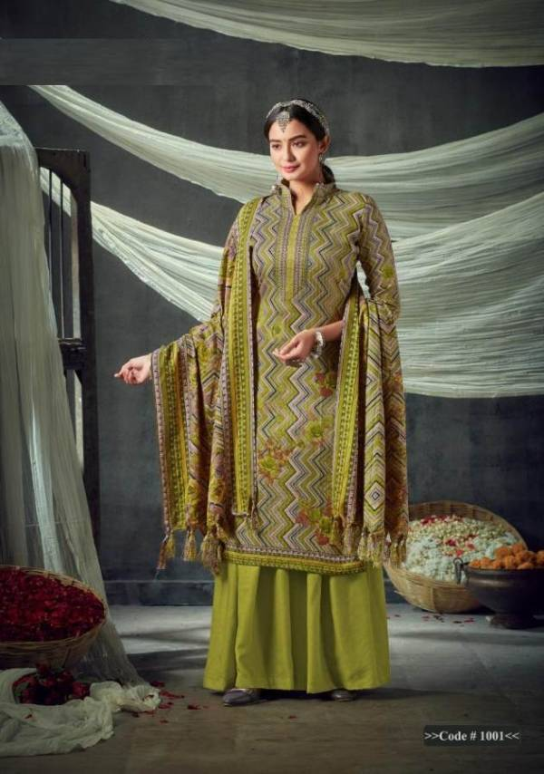 Slky 3 Latest Designer Casual Wear Pure Pashmina Winter Dress Material Collection