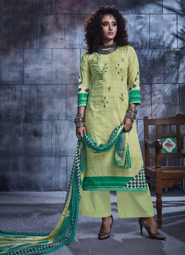 Printed Heavy Lawn New Fancy Casual Wear Salwar Suits Collection