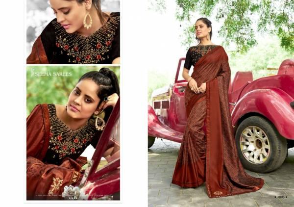 Yal Gaar Vol -3  Latest Fancy Designer Festive Wear   Vichitra Silk Saree Collection