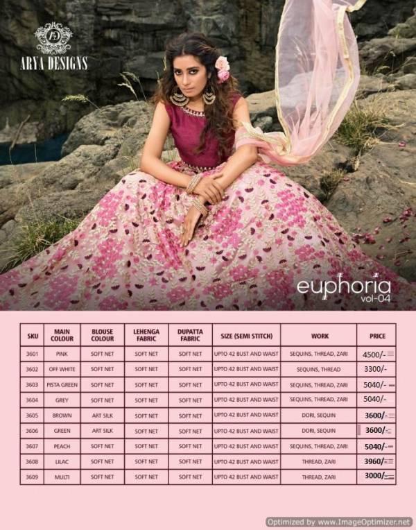 Arya New Launch Of Designer Fancy Heavy Party Wear Wedding Bridal Lehnga Heavy Embroidery Work And Soft Net Dupatta