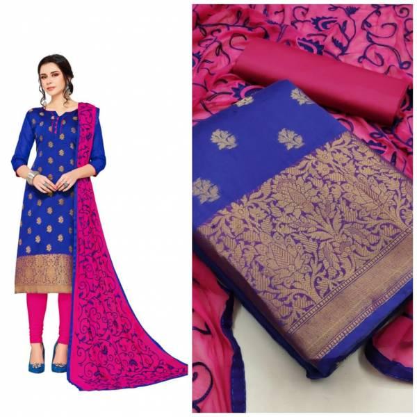 Gng Kulfi 3 Latest Designer Festival Wear Banarasi Jacquard Dress Material Collection
