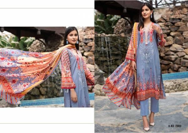 Yashika Mehnoor-2 Latest Designer Printed Pure Lawn Cotton Karachi Dress Material Collection