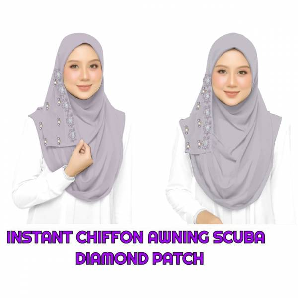Latest Plain Hijab Collection In 14 Different Colour With Diamond Patch and Pearl