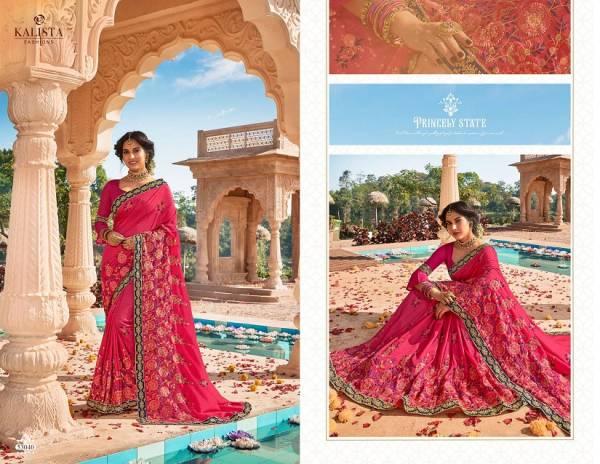 Kalista Style 5 Latest Designer Party Wear Wedding Silk Saree Collection