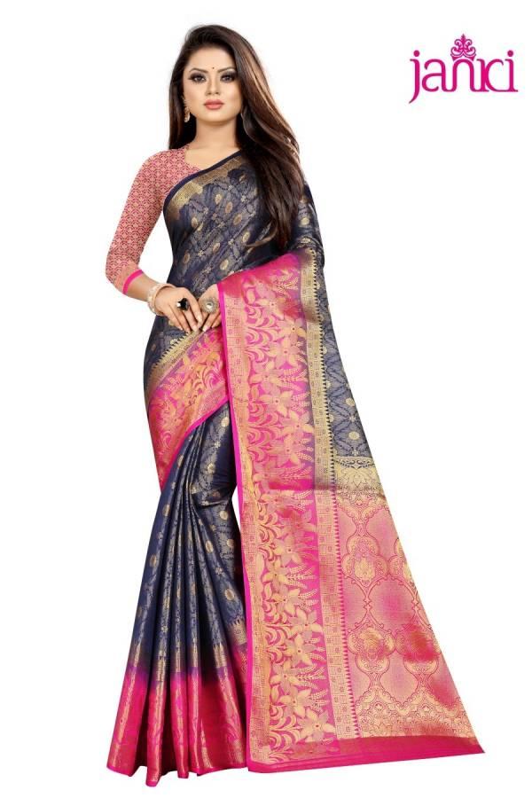 Janki Suntree Latest Designer Party Wear Wedding Wear Banarasi Silk Saree Collection