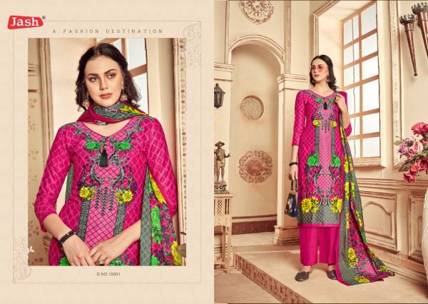 Jash Kusum 15 Exclusive Designer Regular Wear Pure Cotton Dress Material Collection