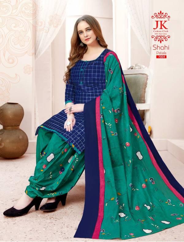 JK Shahi Patiyala 7 Latest fancy Designer regular wear Cotton Printed Dress Material Collection