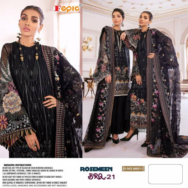 Fepic Rosemeen Brq 21 Latest fancy Designer Festive Wear Georgette Pakistani Salwar Suits Collection