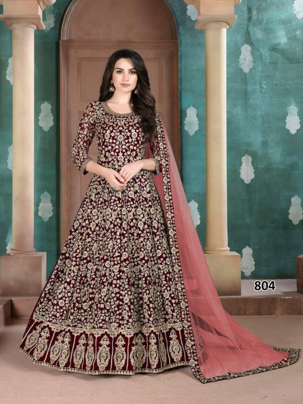 AANAYA vol-108 Faux Georgette Heavy Wedding and Designer Salwar Suit Collections