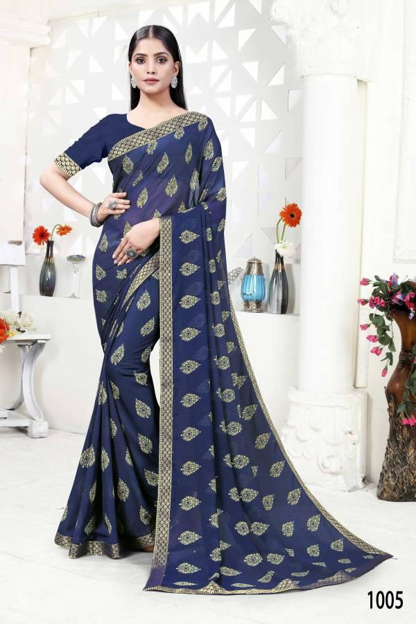 Tasvi Latest Fancy Designer Daily Wear Georgette Saree Collection