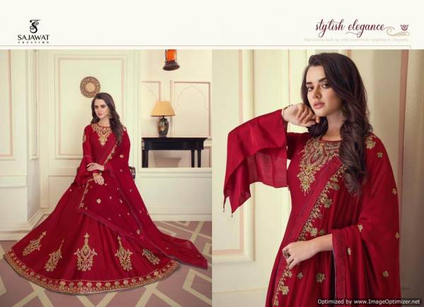 Sajawat Mandora 1 New Designer Collection Of Readymade Heavy Suit Collection For Festival And Functions