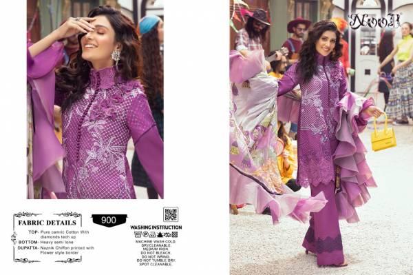 Noor Mushq Nx fancy festive wear Pakistani Premium Pure Cotton With Embroidery work Salwar Kameez Collection