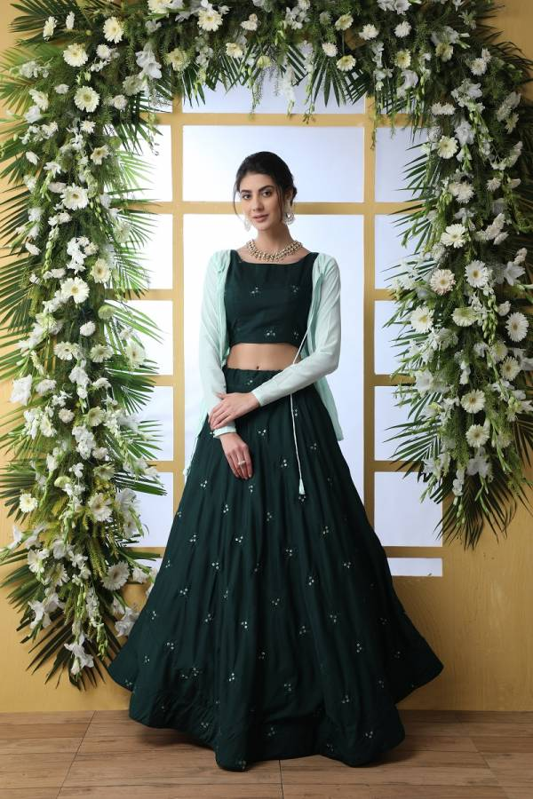 Bridesmaid Vol 5 designer heavy Indo Western Lehenga Choli