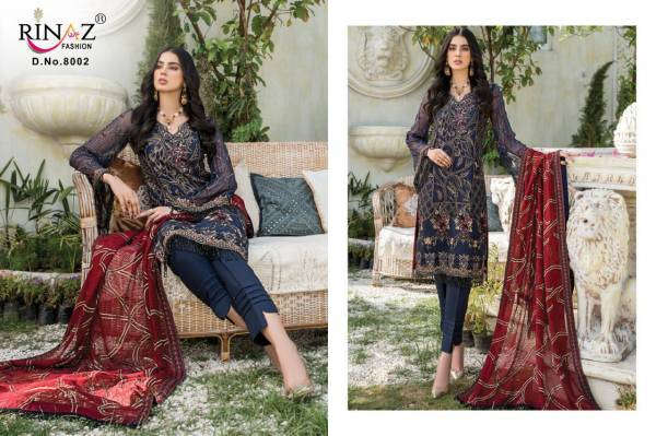 Rinaz Mariyam Gold 10 Latest Fancy Designer Festive Wear Heavy Georgette Exclusive Pakistani Salwar Suits Collection