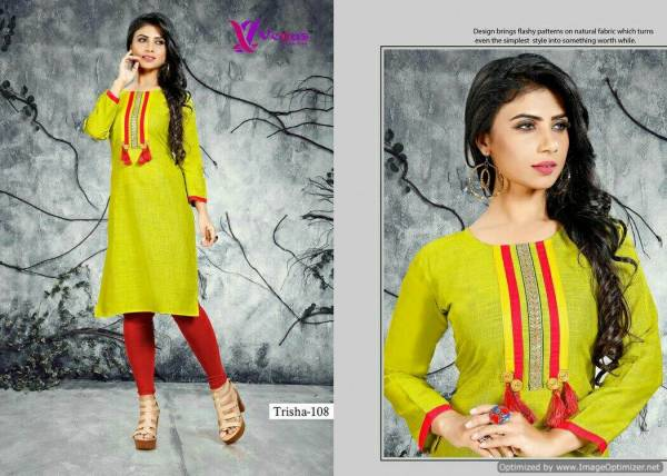 Trisha Vol-1 Designer Stylish Casua Wear Long Sleeves Kurti Collection