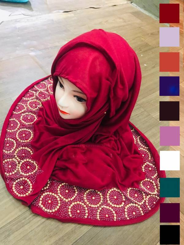 New Designer Diamond Worked Hijabscarf Collection
