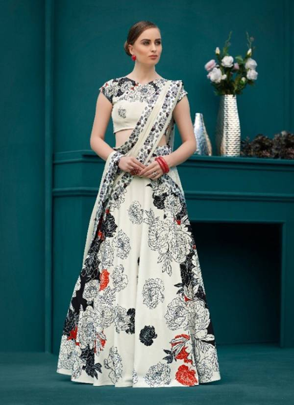 Collection Of Latest Designer Digital Printed Party Wear Lehenga choli