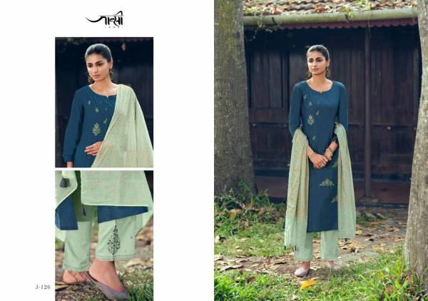 OMTEX DAISY Latest Fancy Festive Wear Designer Heavy Linen Cotton Each Enriched With Embroidery Work Readymade Salwar Suit Collection