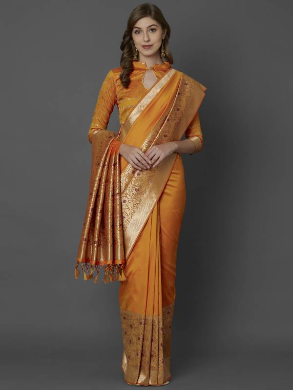 Latest Designer Rich Pallu Banarasi Silk Saree Collection For Festivals And Functions
