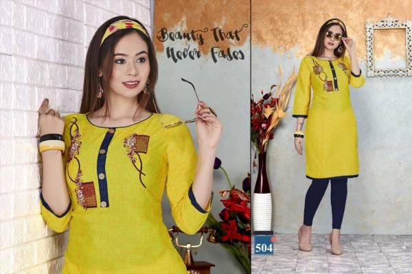Trendy Pari 2 Ethnic Regular Wear Latest Designer Cotton Kurti Collection