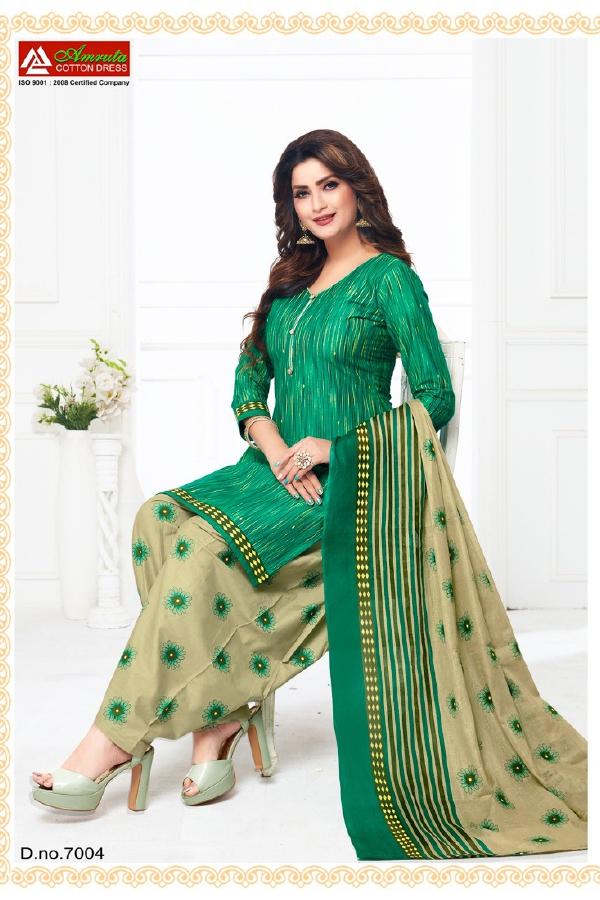 Amruta Patiyala House 7 New Latest Designer Printed Cotton Dress Material Collection