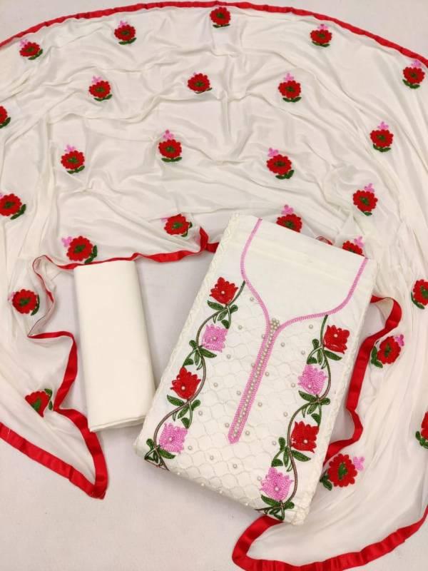 Designer Dress Materials 251 Casual Regular Wear Pure Cotton Color Set Matching Dress Material Collection