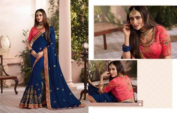 Sringar Latest Designer Wedding Wear Party Wear Jari Thread Embroidery Work With Stone Work