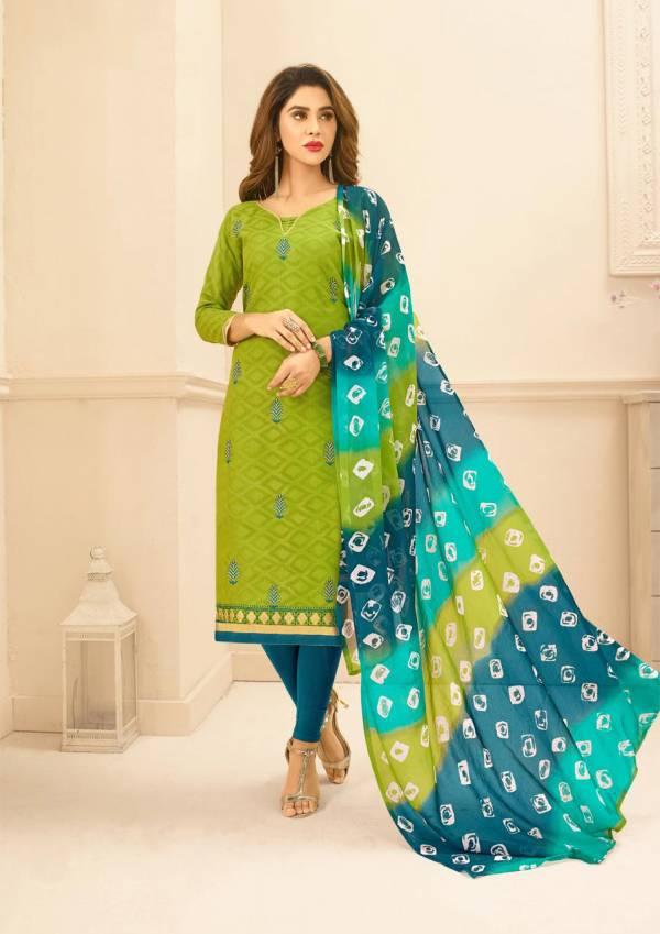 K Divanshi Designer Printed Cotton Dress Material