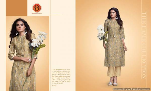 SBS Latest Three Fourth Sleeves Designer  Casual Wear Kurti Collection
