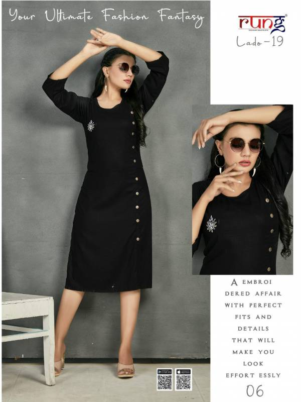 Smylee Lado 19 Heavy Rayon Designer Ethnic Wear Latest Kurtis Collection