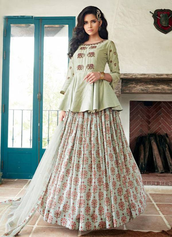 Parampara Gowns Vol-2  Heavy Faux Georgette Designer Gown With Heavy Look and Beautifull Embroidered Gown Collections