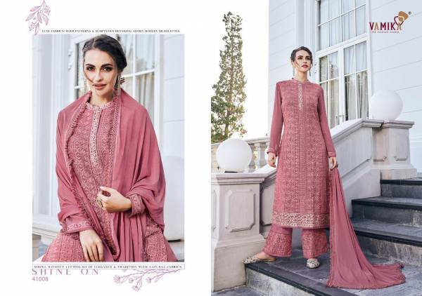 Vamika Simona Vol 2 Latest Designer Plazzo Salwar Suit Collection With Heavy Embroidery Work