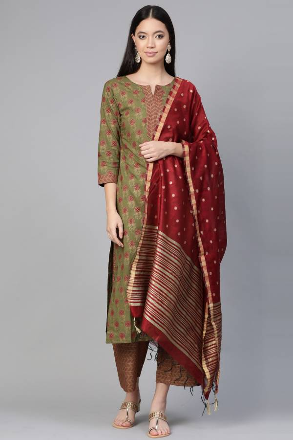 Era Pankh 5 Casual Fancy Regular Wear Ready Made Cotton Plazzo Suit Collection