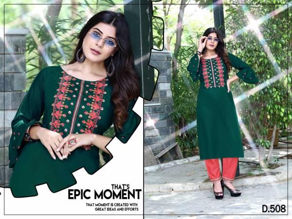 Trisha Ethnic Wear Latest Fancy Kurti With Bottom Collection