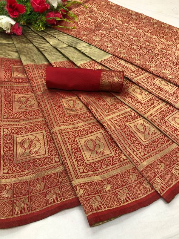 Maahi 13 Latest Fancy Designer Festive And Party Wear Banarasi Silk with Golden Zari Work Saree Collection
