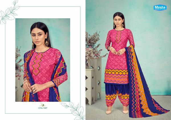 Megha Panghat Vol 1 Exclusive Pure Cotton Printed Casual Wear Dress Material Collection
