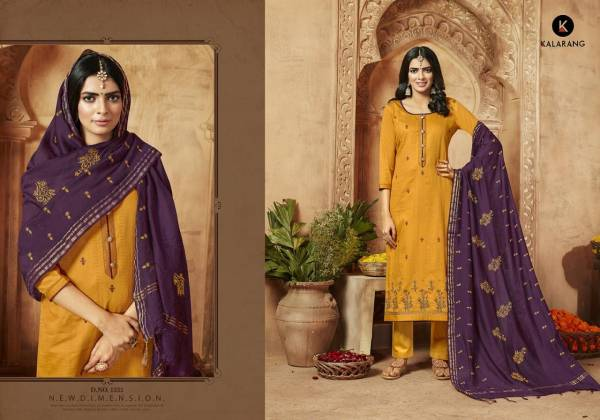 ZIYAA Jam Silk Cotton With Embroidery Work & Fancy  Buttons Designer Party wear and Festival Wear Collections