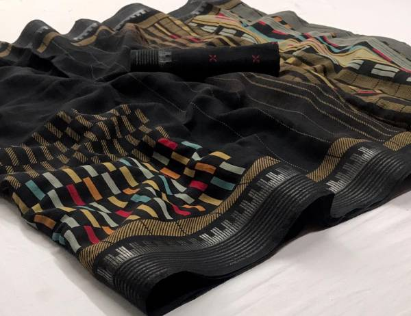 Latest Designer Printed Daily Wear Saree Collection