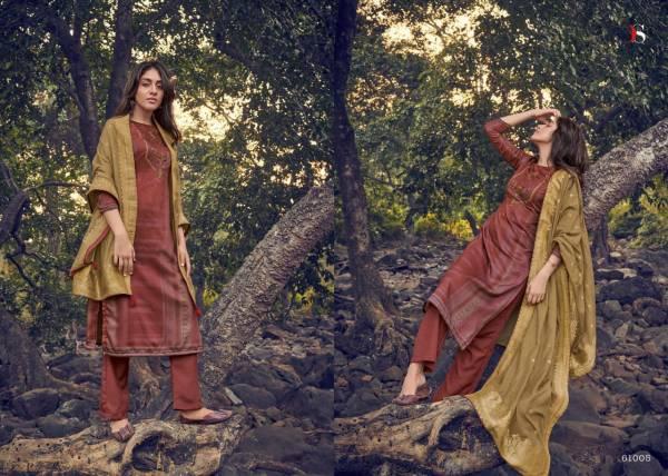 Deepsy Ahana Jam Cotton Digital Print with Khat Handwork Pakistani Designer Salwar Suit Collections